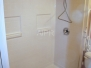 Barrier Free Fiberglass Shower with Wheelchair Accessible Sink