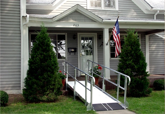 Wheelchair Ramp, Aging-in-Place Remodeling