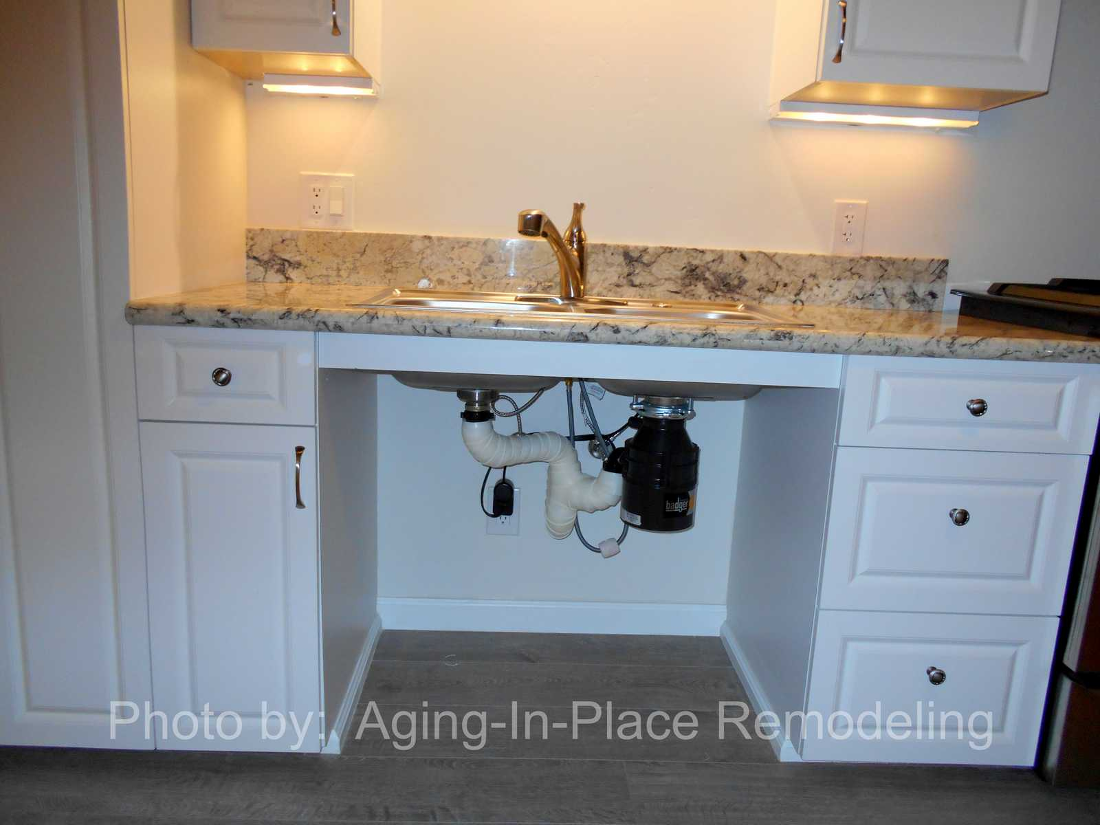 Accessible Sinks - Aging in Place Remodeling