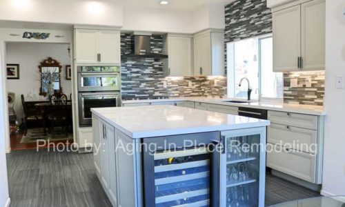 Beautifully updated kitchen remodel
