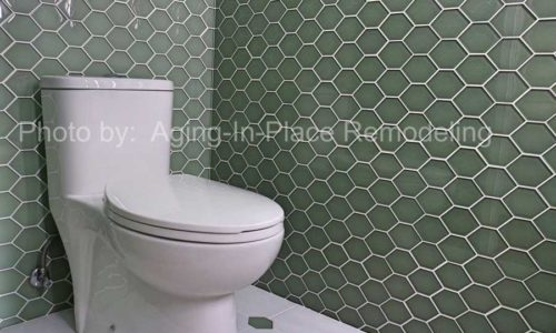 Updated modern bathroom remodel