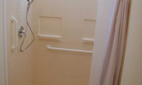 Fiberglass Roll In Shower